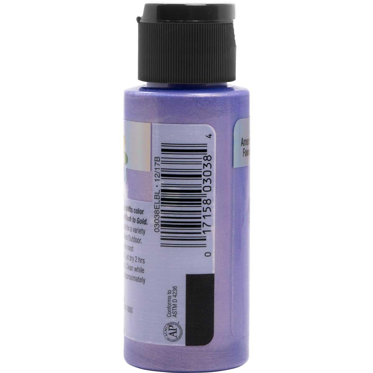 Delta Ceramcoat ® Acrylic Paint - Flash Metallic Blue Violet, 2 oz.