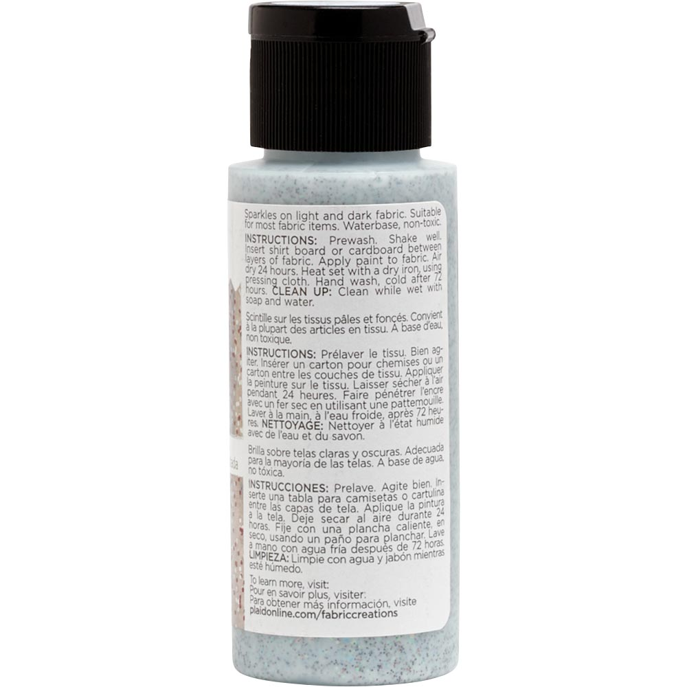 Fabric Creations™ Fantasy Glitter™ Fabric Paint - Enchanted Spice, 2 oz. - 26360