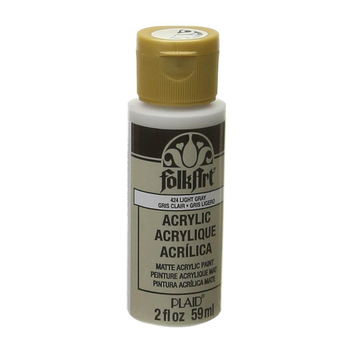 FolkArt ® Acrylic Colors - Light Gray, 2 oz.