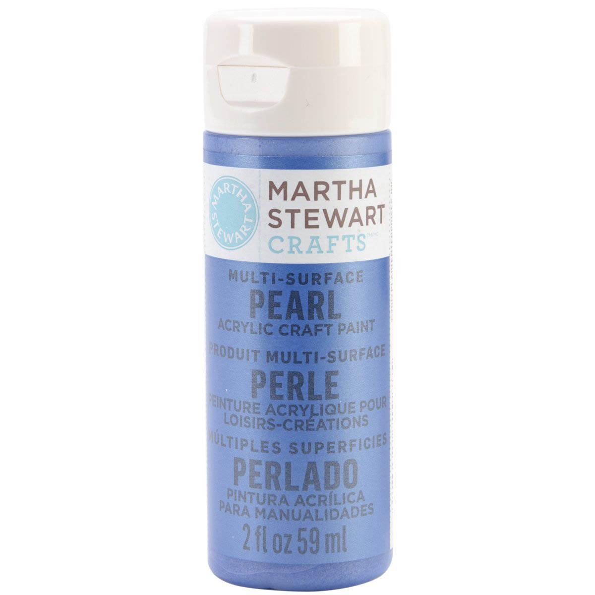 Martha Stewart® 2oz Multi-Surface Pearl Acrylic Craft Paint - Cornflower