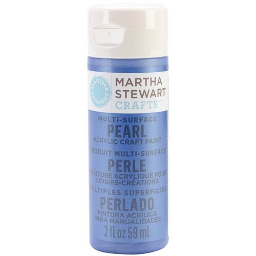 Martha Stewart ® Multi-Surface Pearl Acrylic Craft Paint - Cornflower, 2 oz. - 32968CA