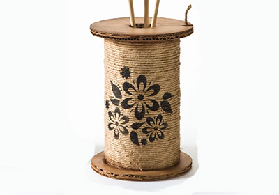 Decorative Spool for Earth Day