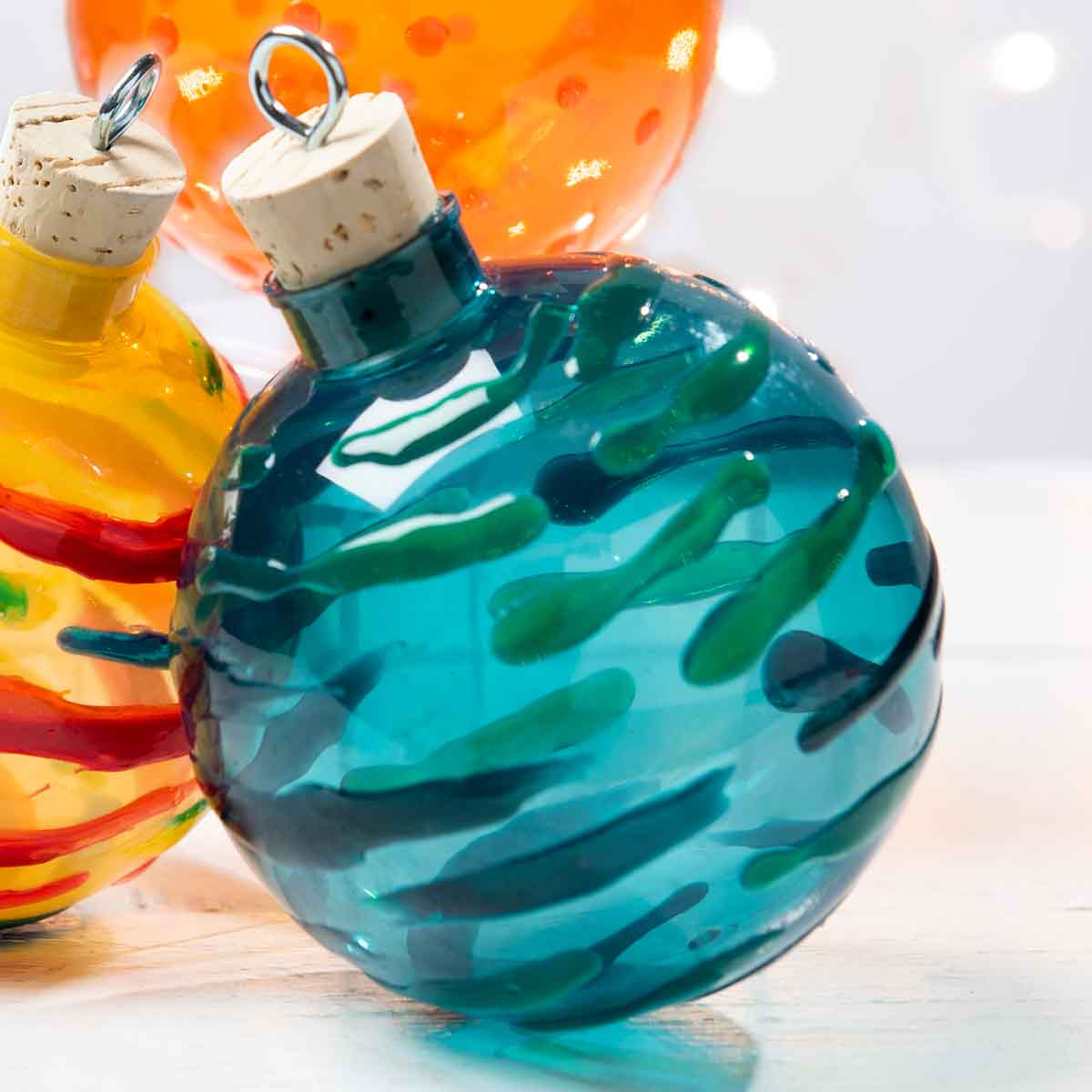 Blown Gallery Glass Ornaments
