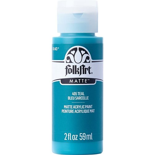 FolkArt ® Acrylic Colors - Teal, 2 oz.