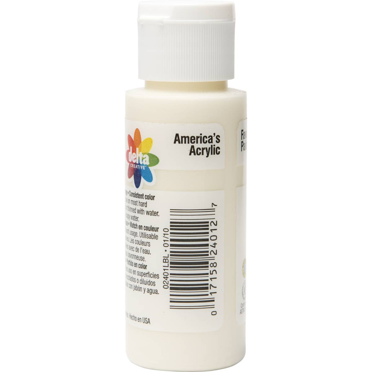 Delta Ceramcoat ® Acrylic Paint - Light Ivory, 2 oz. - 024010202W
