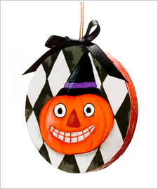 Vintage Pumpkin Ornament