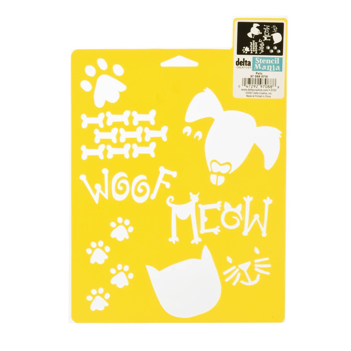 Delta Stencil Mania™ - Pets - 970880710