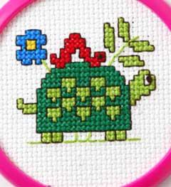 Bucilla ® My 1st Stitch™ - Counted Cross Stitch Kits - Mini - Turtle
