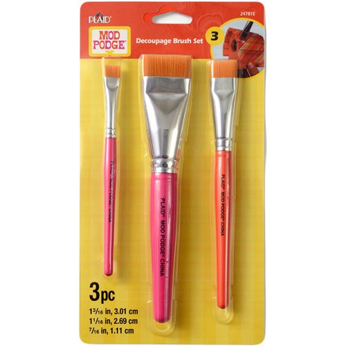 Mod Podge ® Brush Set, Decoupage
