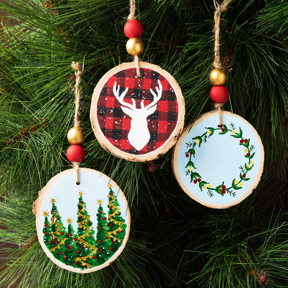 Handmade Holiday Ornaments