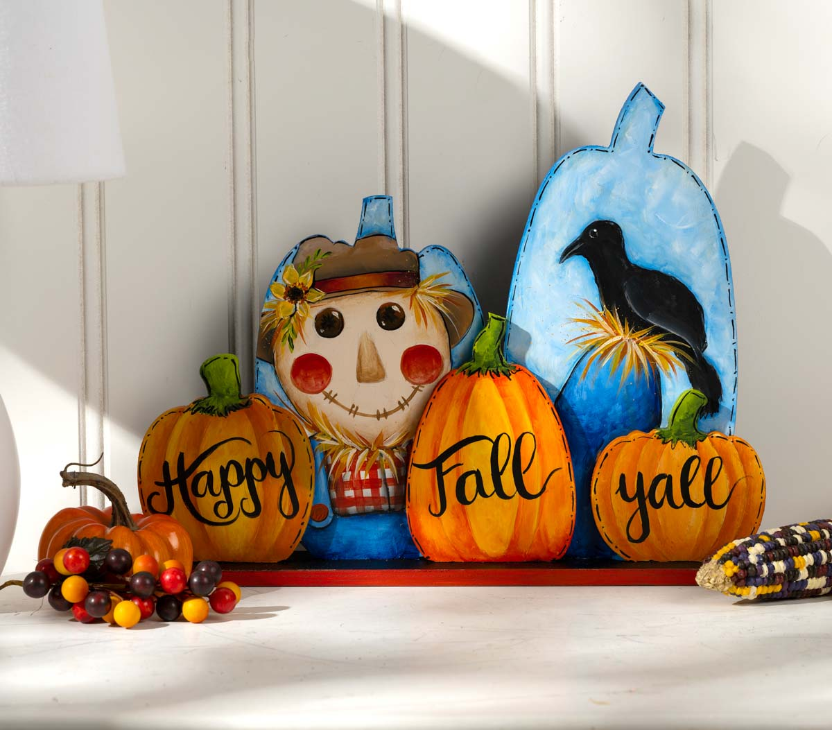 Plaid ® Wood Surfaces - Pumpkin Patch Stand - 56960