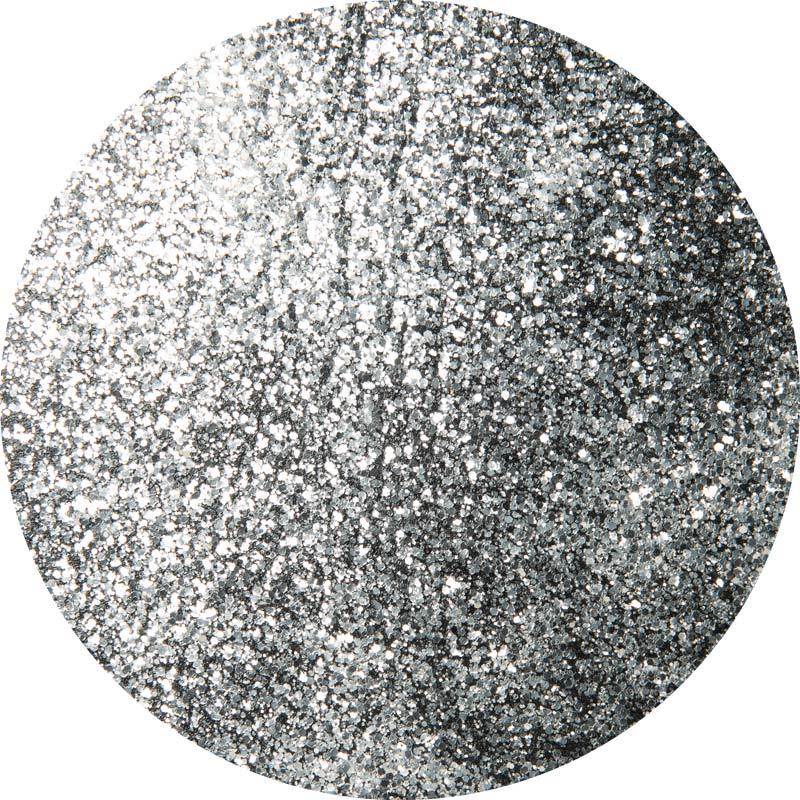 PlaidFX Hi-Voltage Glitter Flexible Acrylic Paint - Silver, 3 oz. - 36901