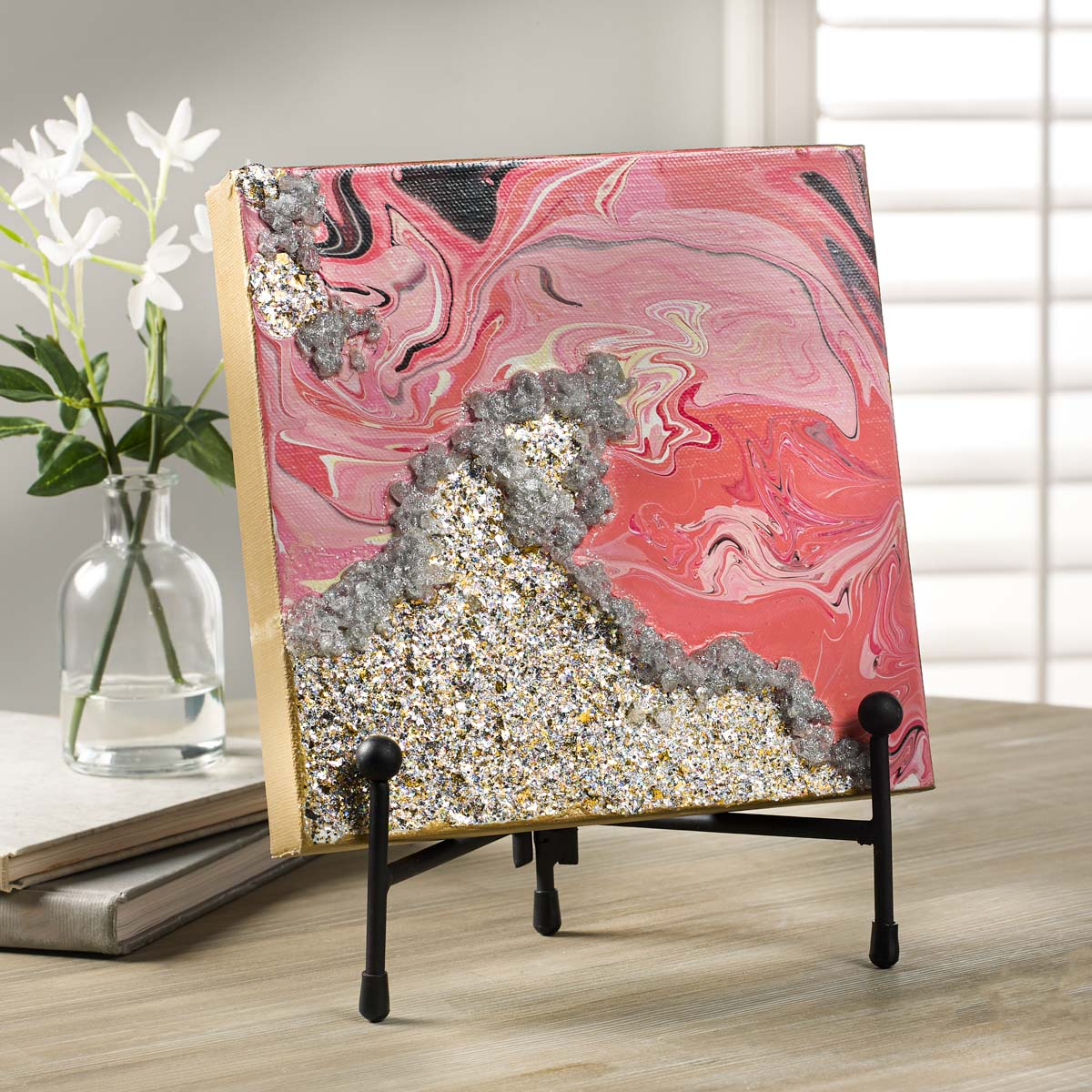 FolkArt ® Glitterific™ Icons Acrylic Paint Set 4 Color - 7504