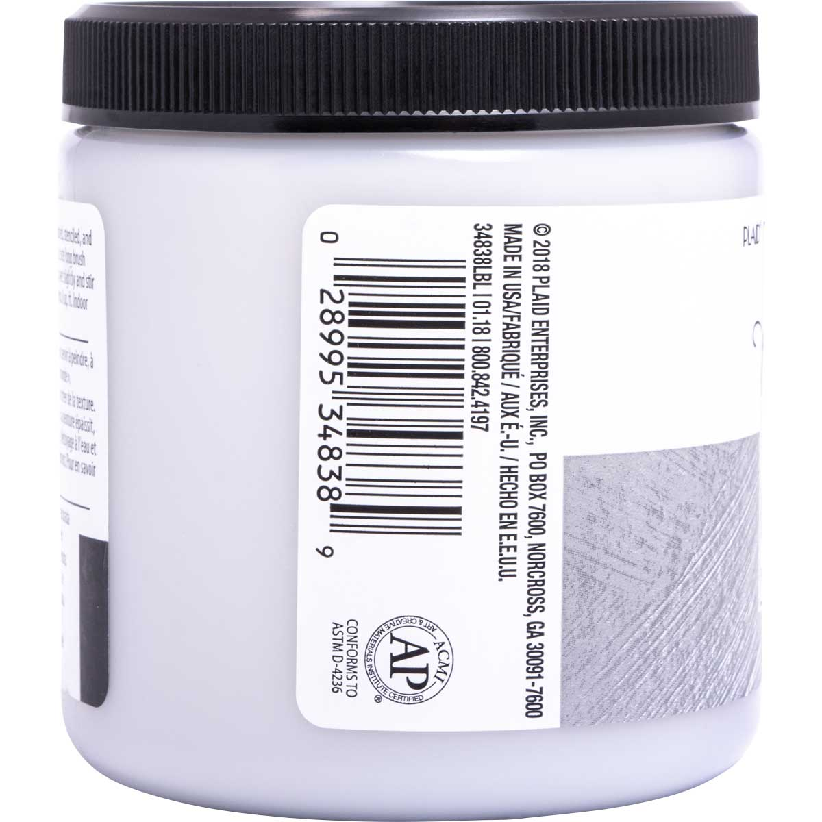 FolkArt ® Home Decor ® Texture Chalk™ - Dovetail, 8 oz.