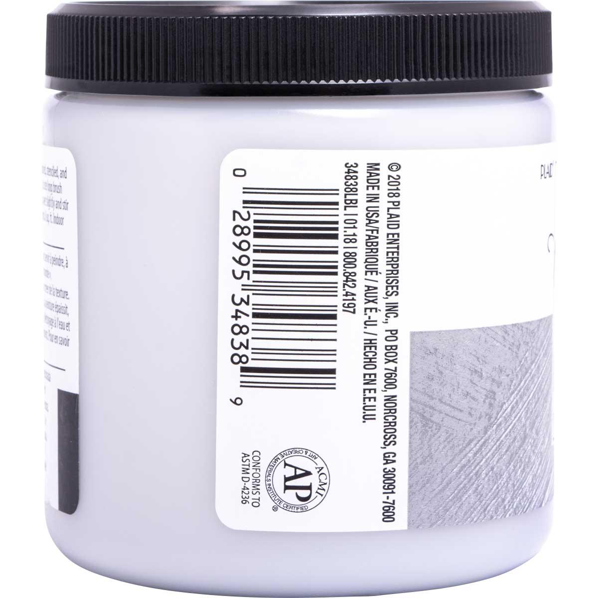 FolkArt ® Home Decor ® Texture Chalk™ - Dovetail, 8 oz.
