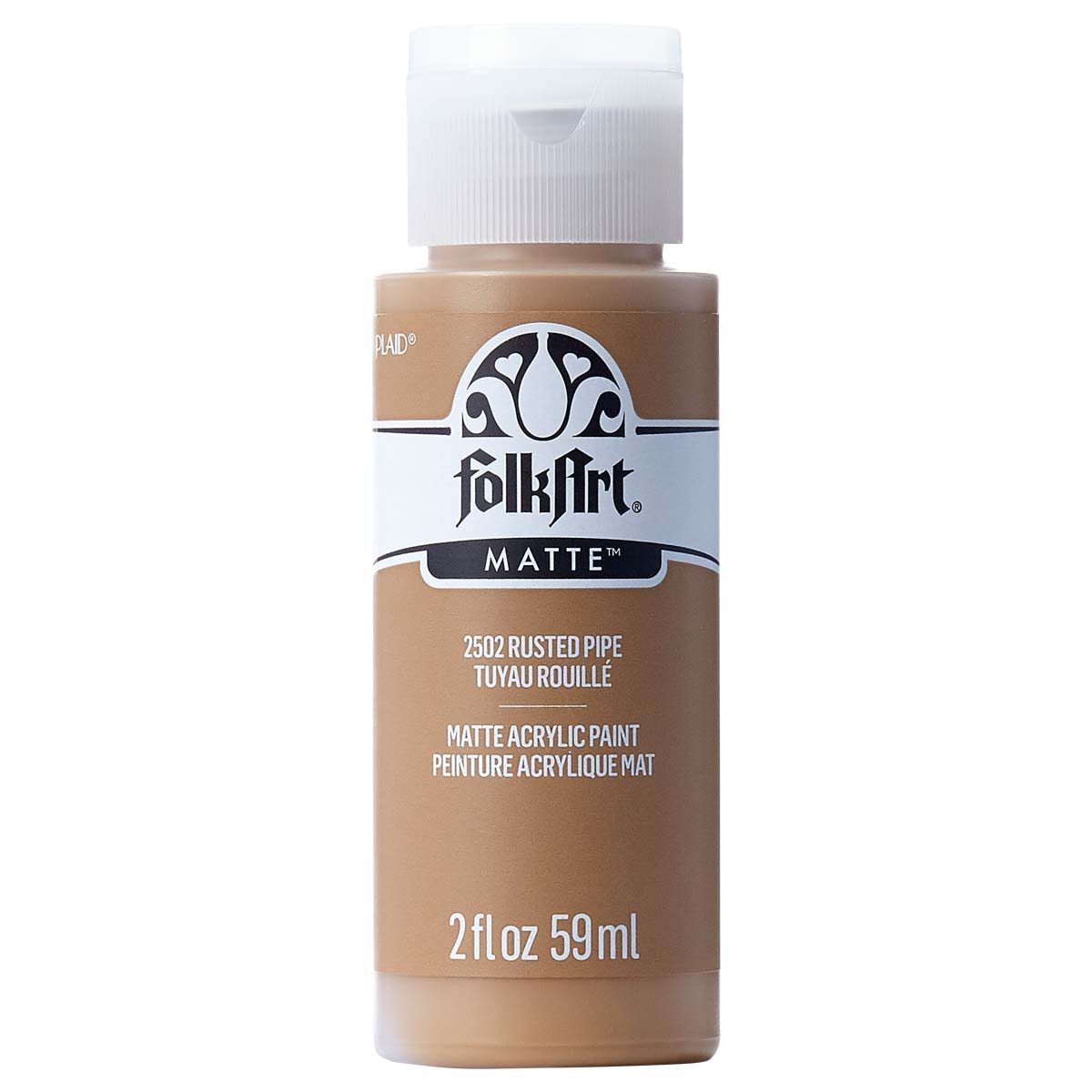 FolkArt ® Acrylic Colors - Rusted Pipe, 2 oz. - 2502