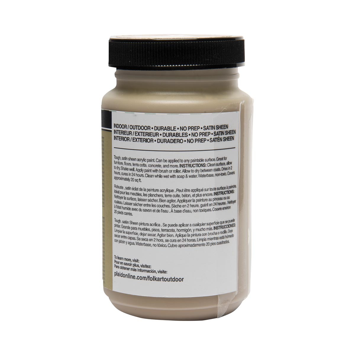 FolkArt ® Outdoor™ Acrylic Colors - Sandy Beach, 8 oz.. - 6265