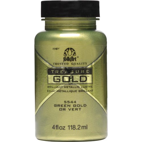 FolkArt ® Treasure Gold™ - Green Gold, 4 oz. - 5544