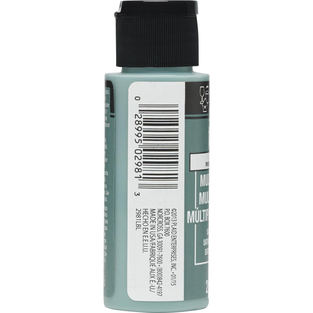 FolkArt ® Multi-Surface Satin Acrylic Paints - Greenscape, 2 oz.