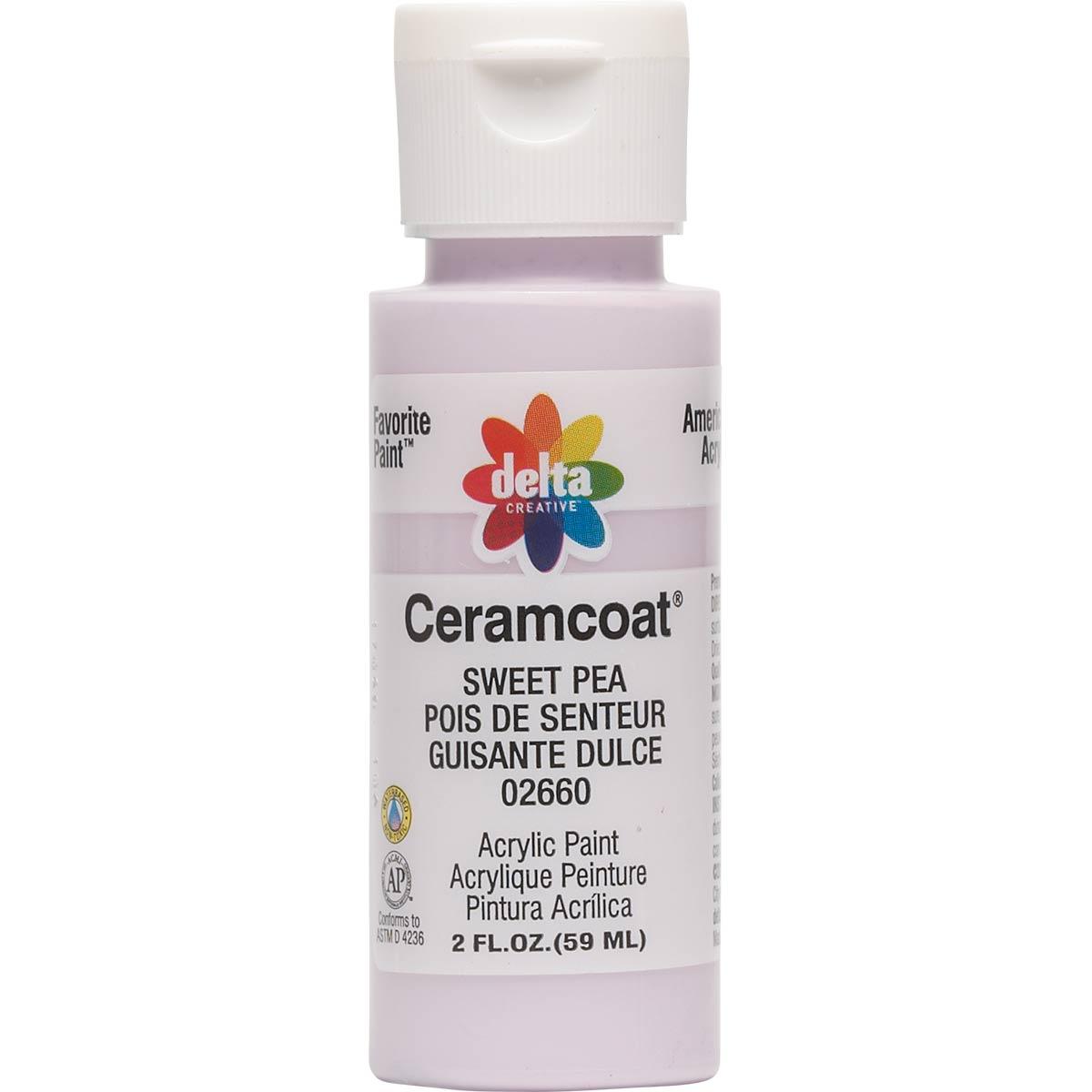 Delta Ceramcoat ® Acrylic Paint - Sweet Pea, 2 oz.