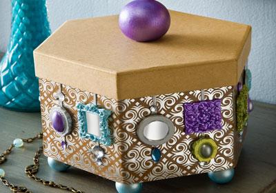 Mod Melt Mirrored Box