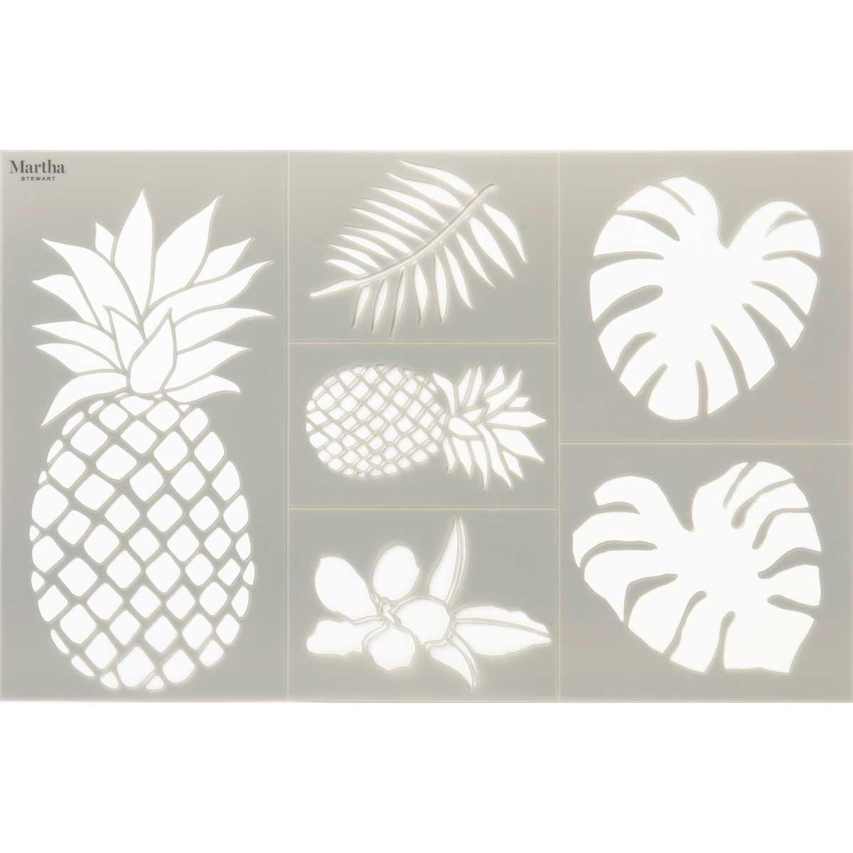 Martha Stewart® Adhesive Stencil - Pineapple