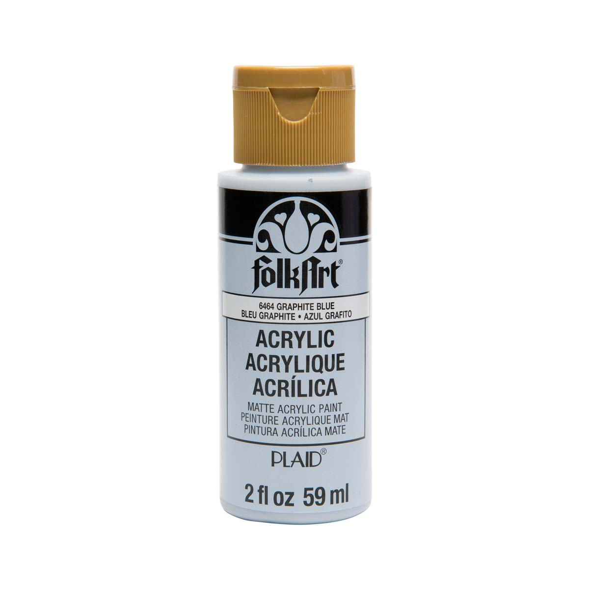 FolkArt ® Acrylic Colors - Graphite Blue, 2 oz. - 6464