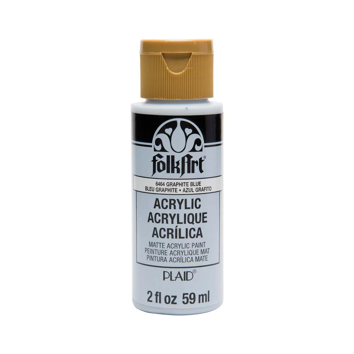 FolkArt ® Acrylic Colors - Graphite Blue, 2 oz.