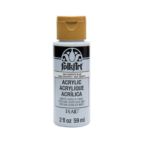 FolkArt ® Acrylic Colors - Graphite Blue, 2 oz.