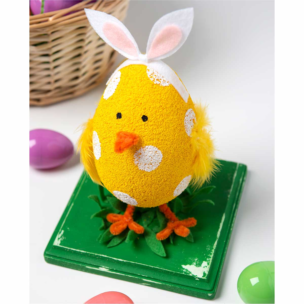 Easter DIY Idea - Easter Chick