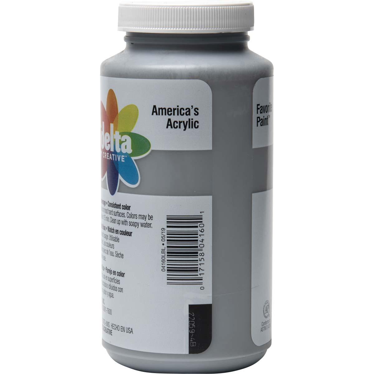 Delta Ceramcoat ® Acrylic Paint - Rain Grey, 16 oz.