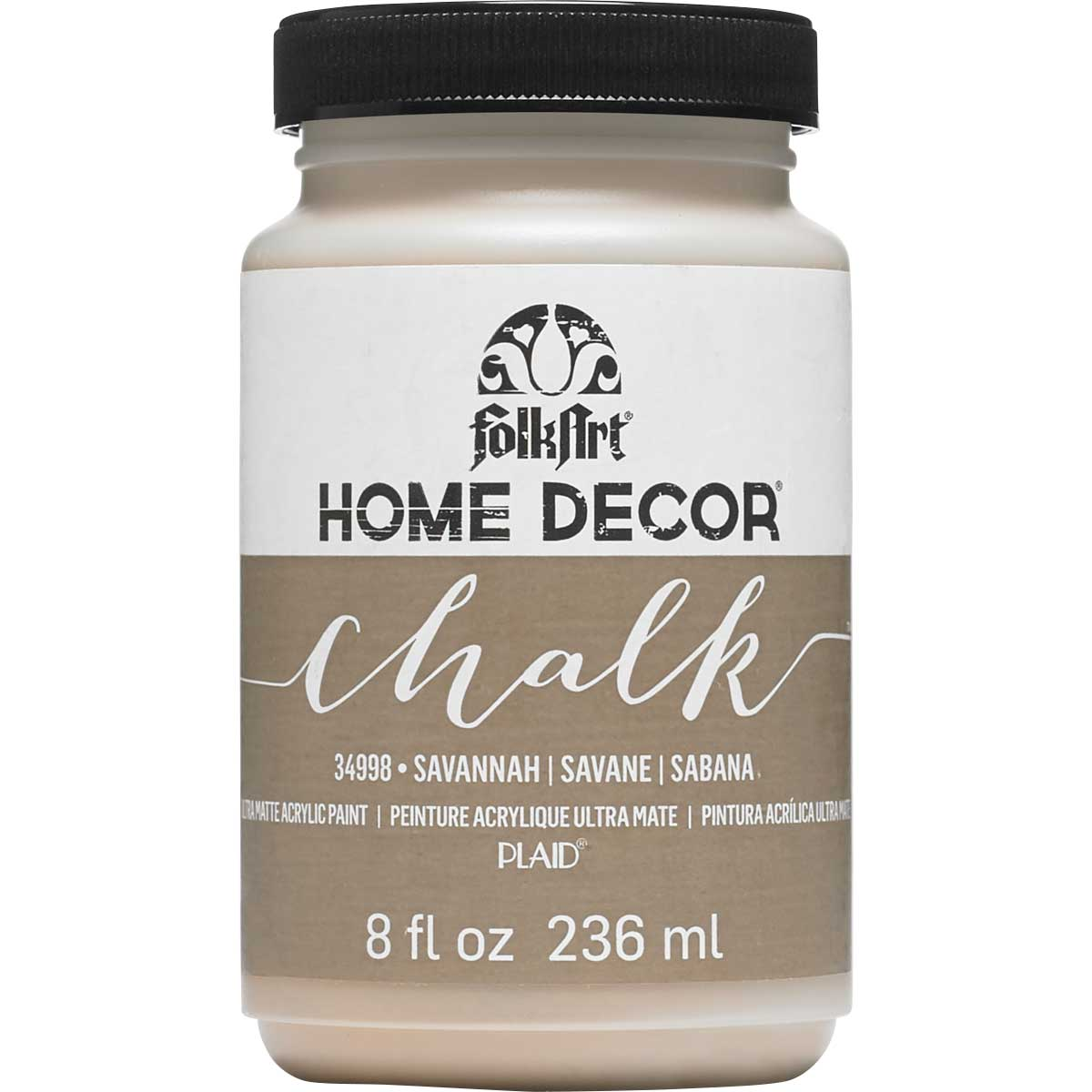 Plaid Folkart Home Decor Chalk