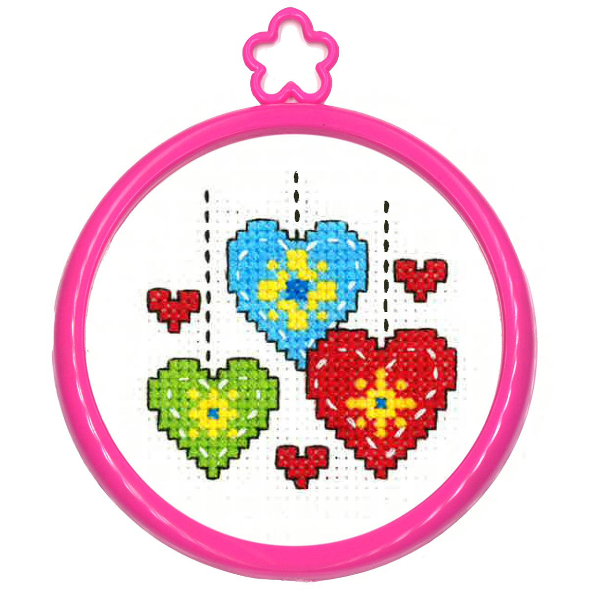 Bucilla ® My 1st Stitch™ - Counted Cross Stitch Kits - Mini - Hearts