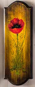 Easy-to-Paint Poppies