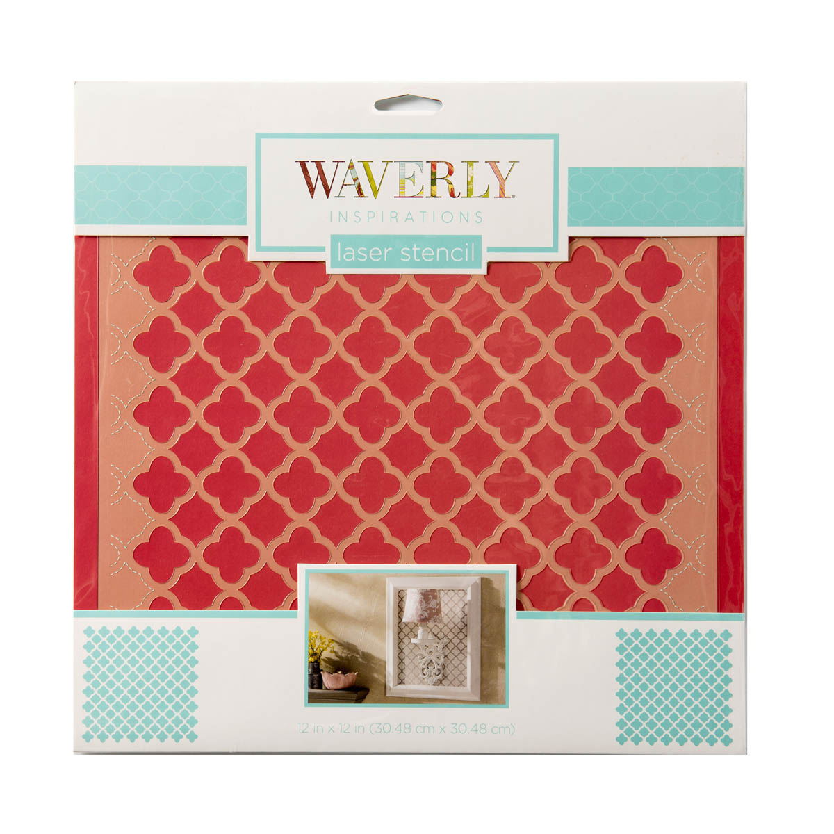 Waverly ® Inspirations Laser Stencils - Décor - Medallion, 12