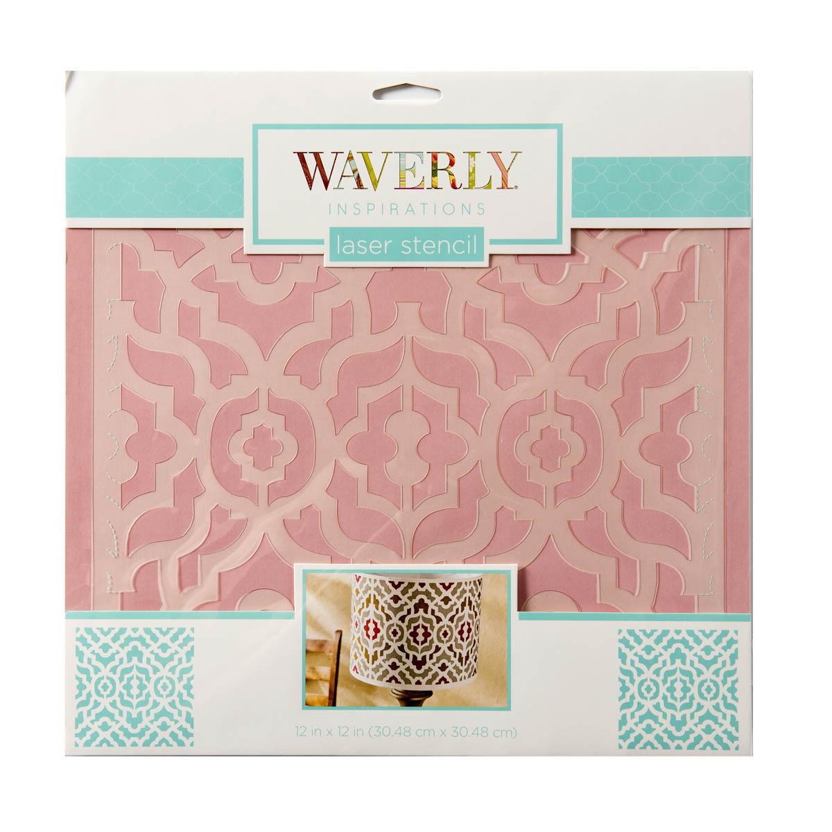 Waverly ® Inspirations Laser Stencils - Décor - Lattice, 12