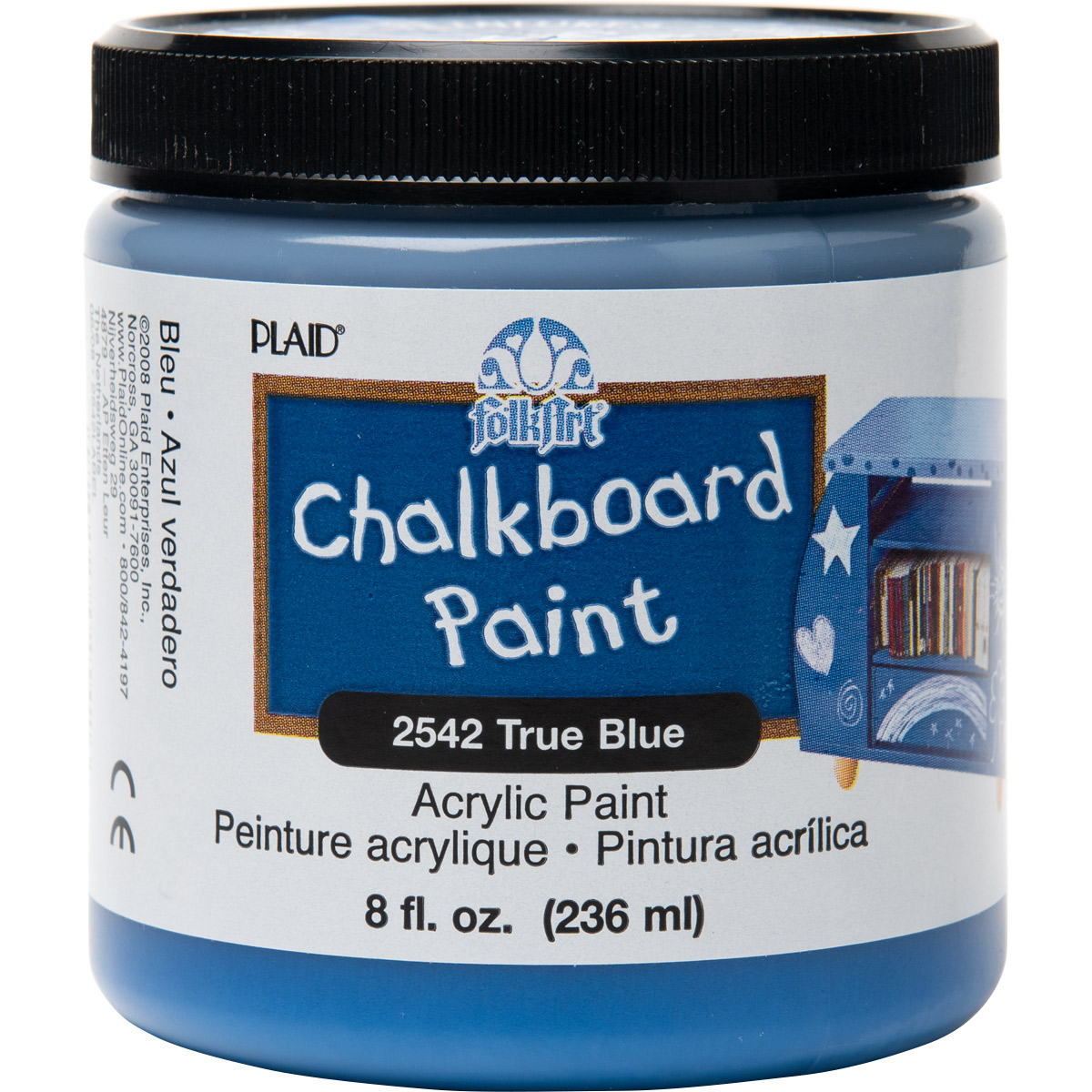 F/A CHALKBOARD - TRUE BLUE 8 OZ. JAR