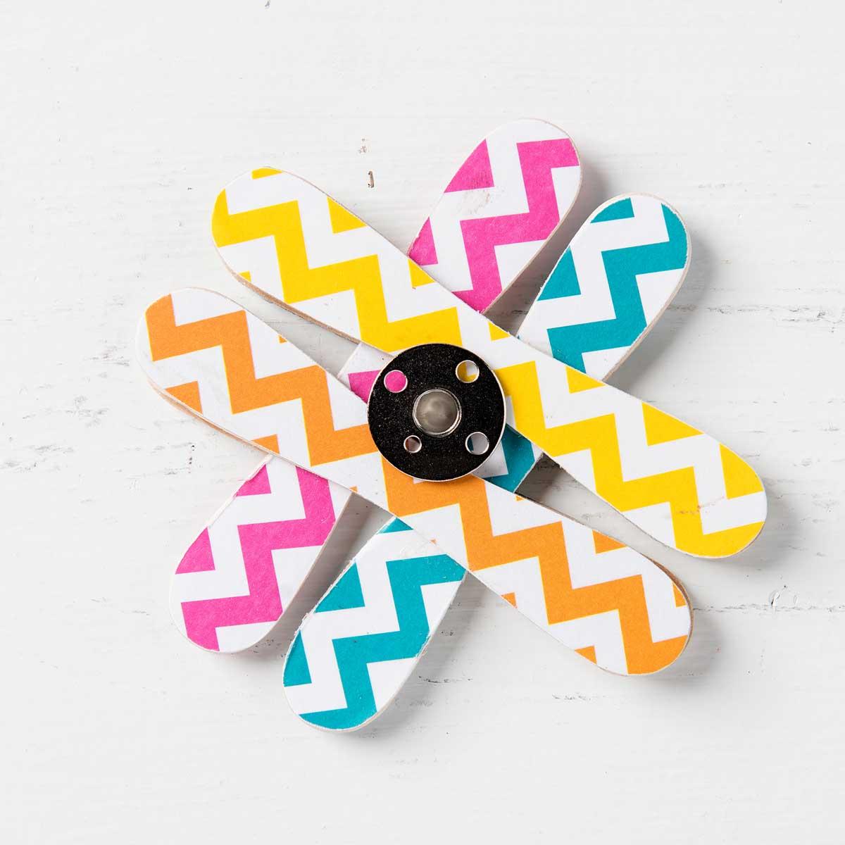 Fidget Spinner Craft with Mod Podge