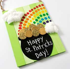 St. Patrick's Day Pot O' Gold