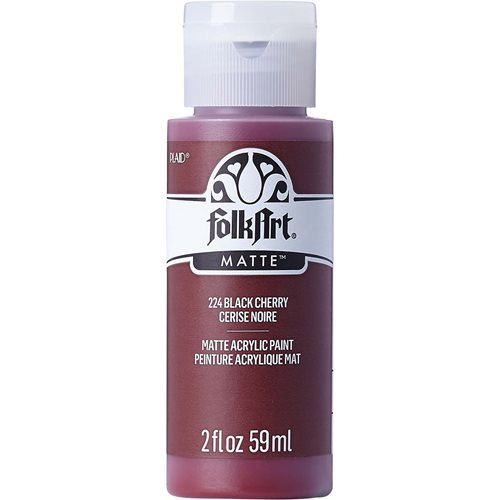 FolkArt ® Acrylic Colors - Black Cherry, 2 oz.