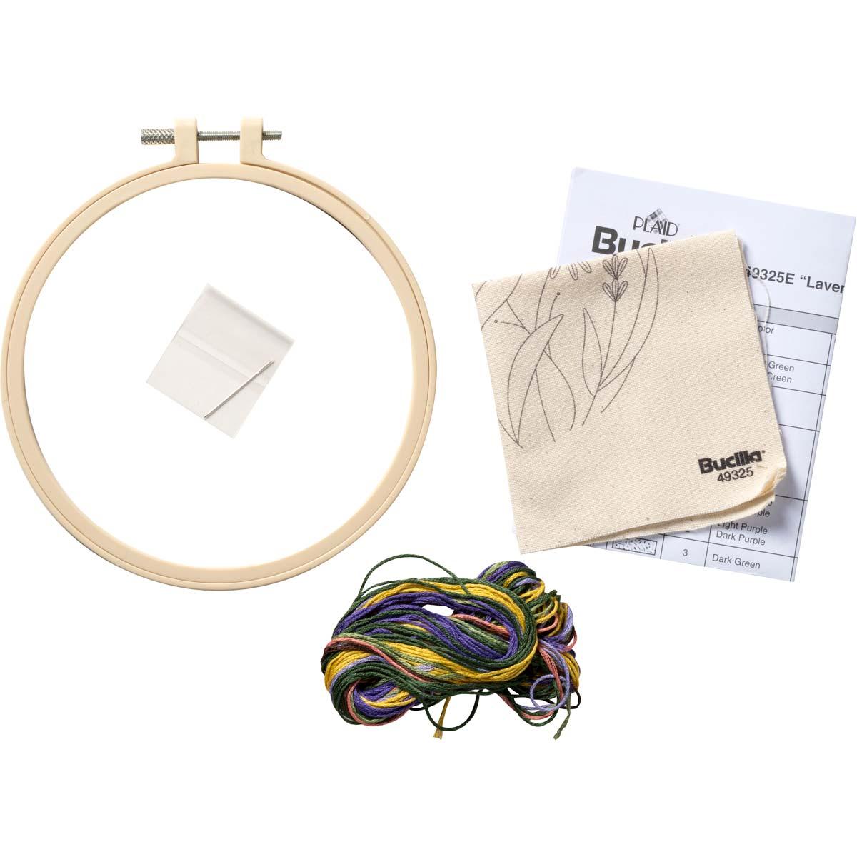 Bucilla ® Stamped Embroidery - Lavender Fields - 49325E