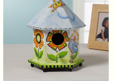 Floral Gazebo Birdhouse
