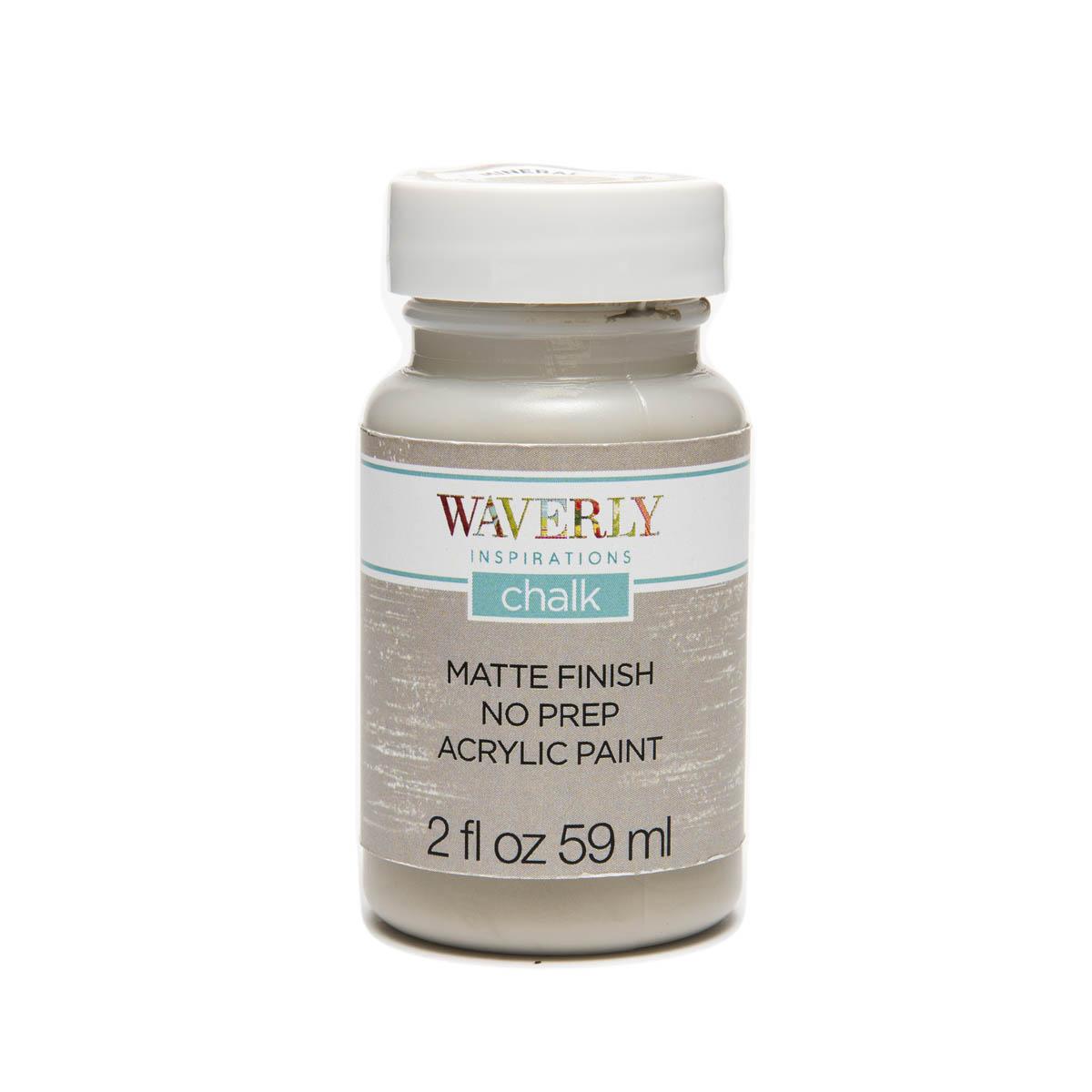 Waverly ® Inspirations Chalk Finish Acrylic Paint - Mineral, 2 oz. - 60896E