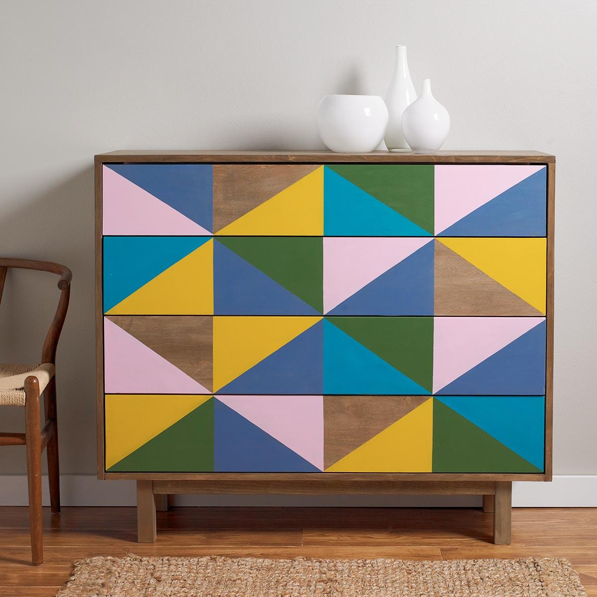 Modern Geometric Dresser