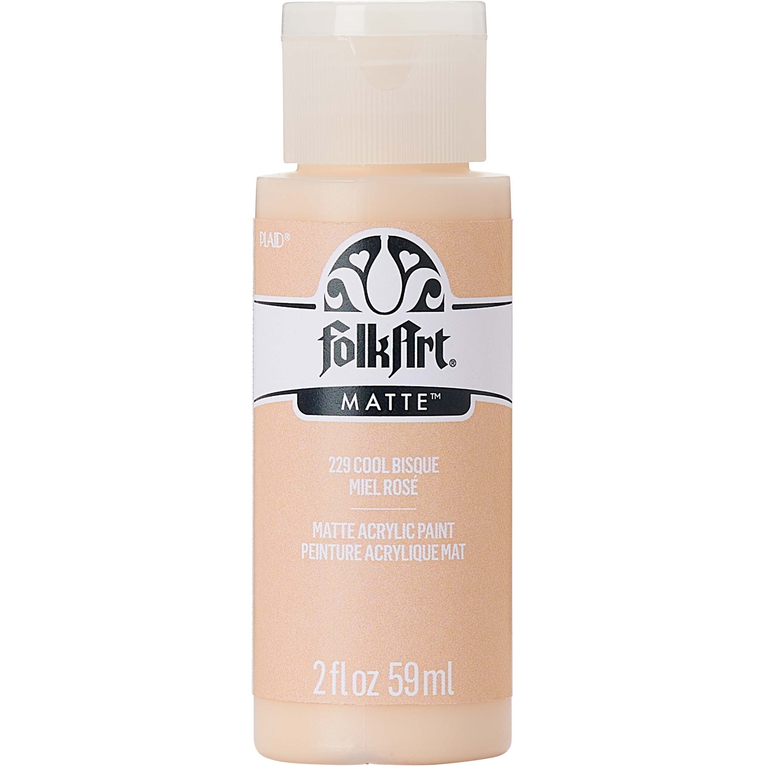 FolkArt ® Acrylic Colors - Cool Bisque, 2 oz. - 229