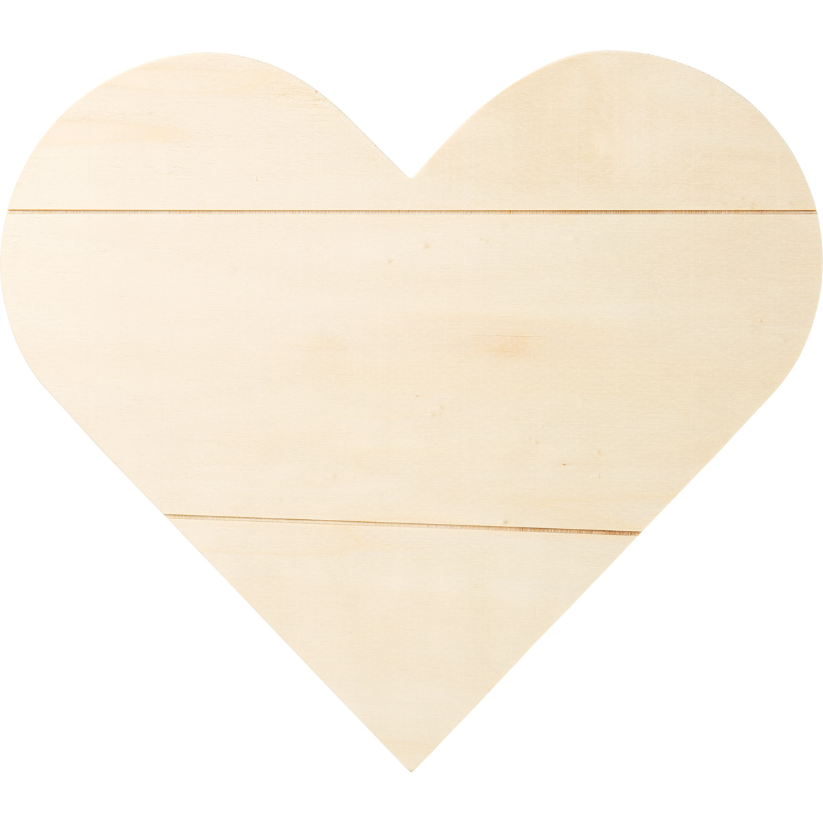 Plaid ® Wood Surfaces - Plaques - Heart Sign, 11.81