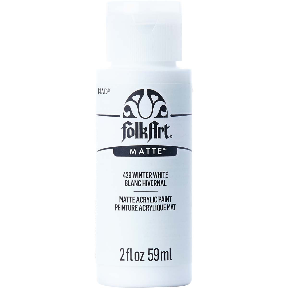 FolkArt ® Acrylic Colors - Winter White, 2 oz. - 429
