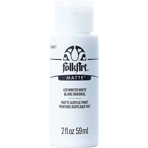 FolkArt ® Acrylic Colors - Winter White, 2 oz.
