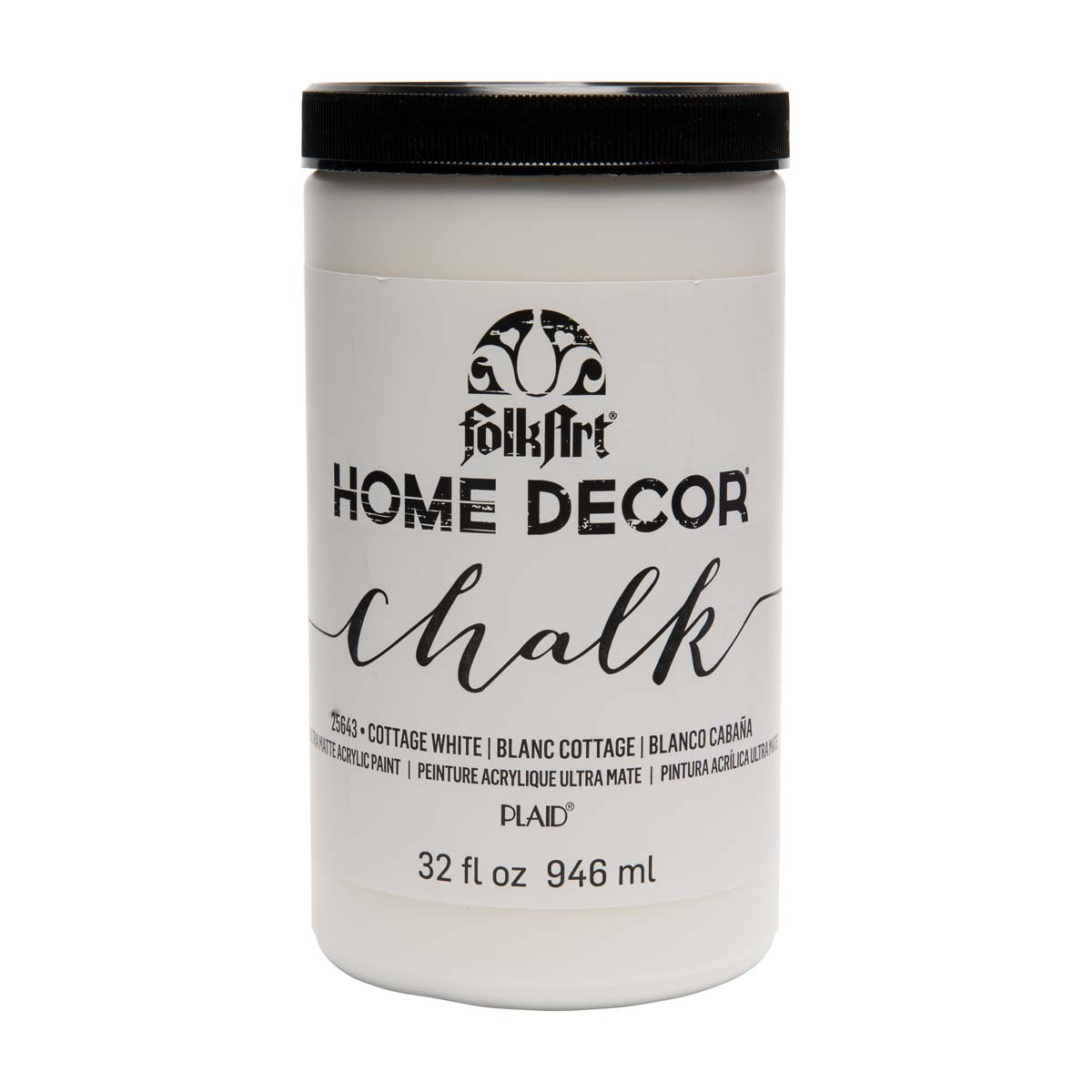 FolkArt ® Home Decor™ Chalk - Cottage White, 32 oz. - 25643