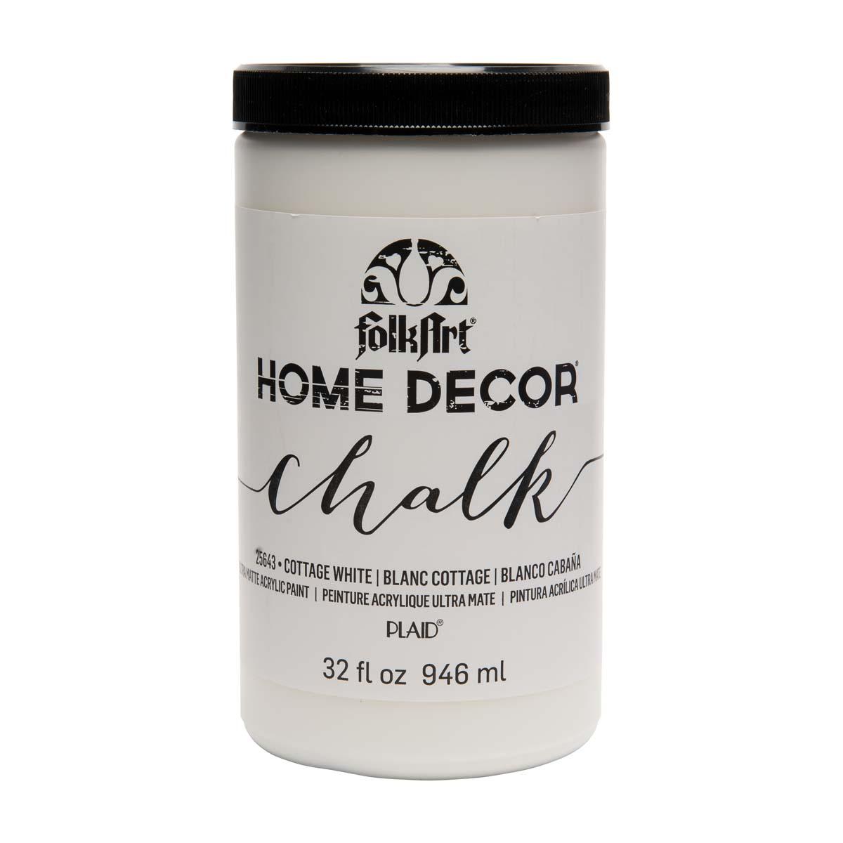 FolkArt ® Home Decor™ Chalk - Cottage White, 32 oz.
